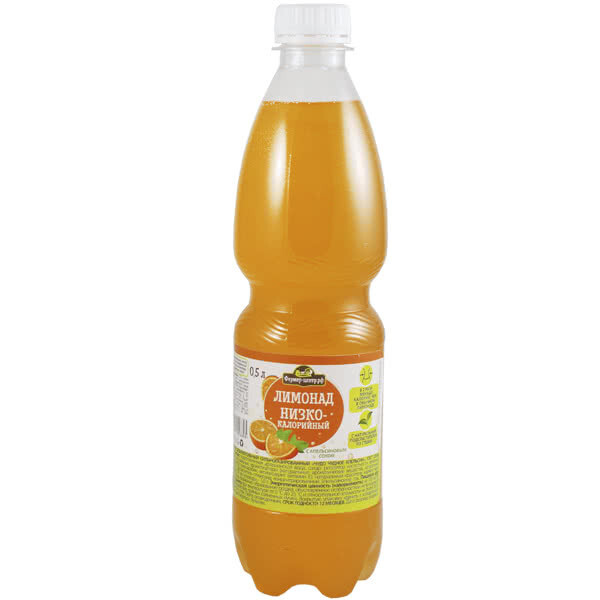Газированный напиток Апельсин, 0.5л