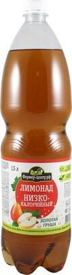 Газированный напиток Золотая груша, 1.5л