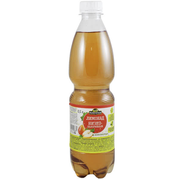 Газированный напиток Золотая груша, 0.5л