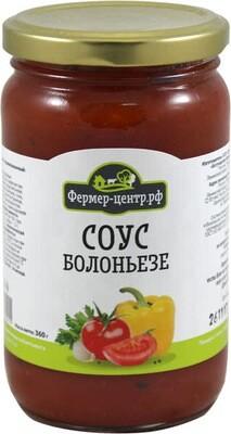 Соус Болоньезе Овощной для спагетти томат/слад. перец 360г