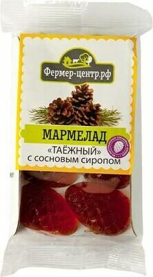 Мармелад Таежный с сиропом из сосновых шишек 110г