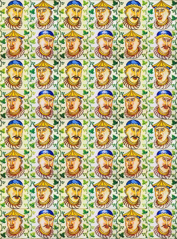 FACES by Portuguese Tiles of Lisbon