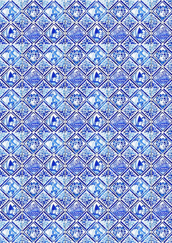 JESTER by Portuguese Tiles of Lisbon