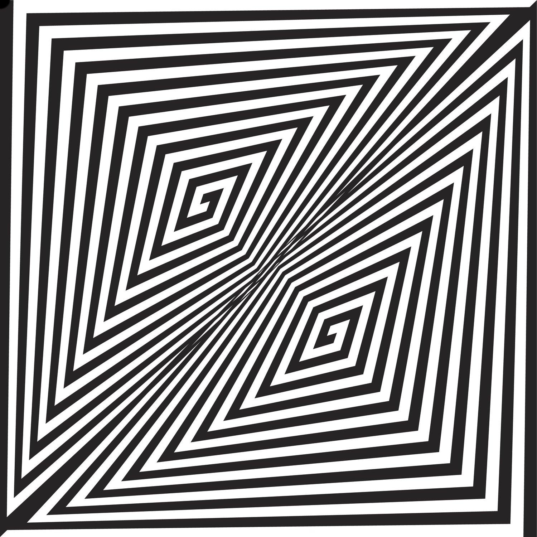 Free maze distortion