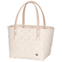 Shopper Color Block Ecru white
