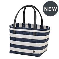 Shopper Color Block Ocean blue white