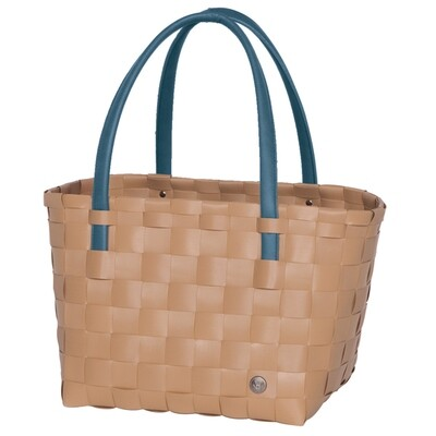 Shopper Color Block hazelnut brown