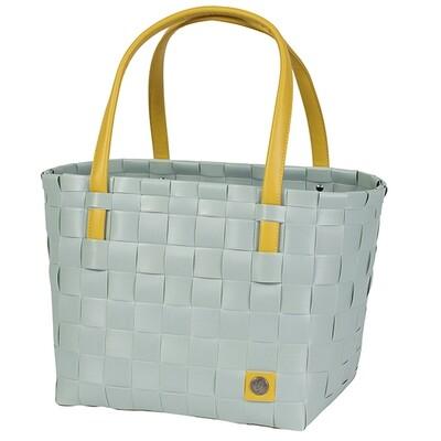 Shopper Color Block greyisch greeen