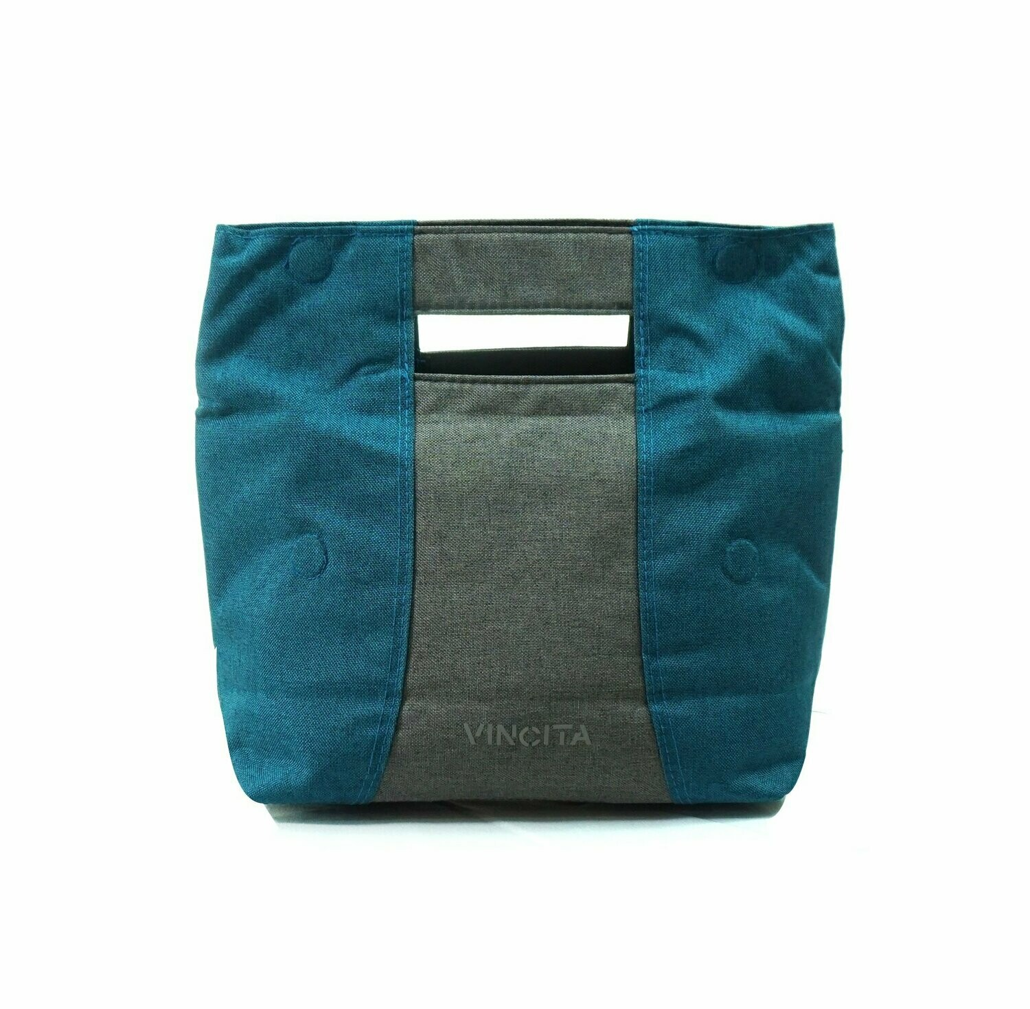 Bicycle Bag Handlebar - Viola in Turquoise