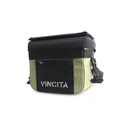 Bicycle Bag Handlebar - John in Faded Green