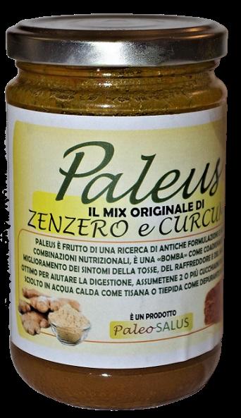 """PALEUS"""" Il MIX originale ed Unico di Zenzero, Curcuma e Miele gr. 360"""