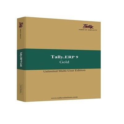 Renewal Pack Tally ERP 9 Gold (Multi User) 1 Year