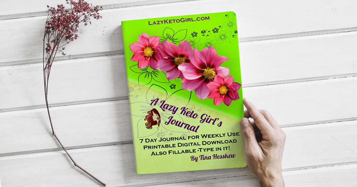 A Lazy Keto Girl's Weekly Journal - Digital Download 00001