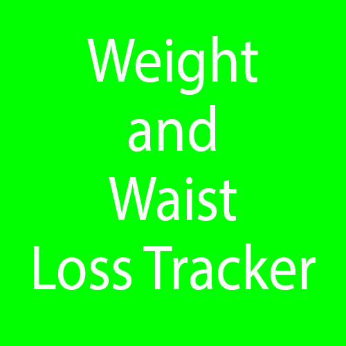 Weight and Waist Loss Tracker 00003
