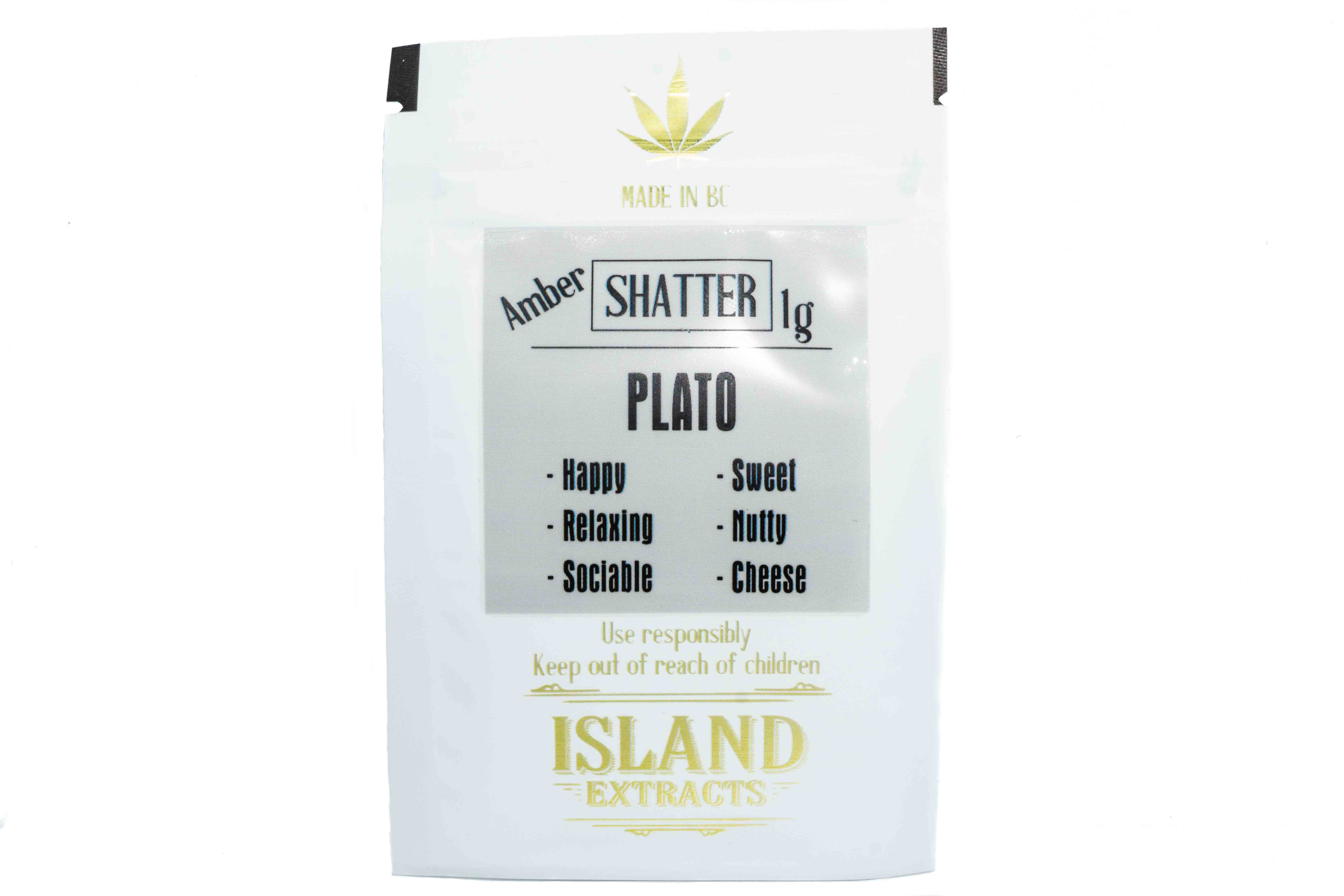 Plato (UK Cheese & Romulan) (1g) Shatter by Island Extracts 01317