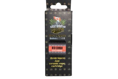 Red Congo (Sativa) (Full Spectrum) Rosin Sauce Replacement Cartridge by Rocky Mountain