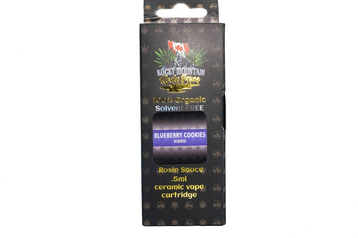 Blueberry Cookies (Hybrid) (Full Spectrum) Rosin Sauce Replacement Cartridge by Rocky Mountain