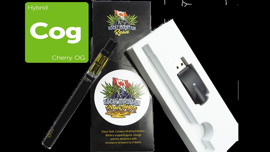 Cherry OG (Hybrid) (Full Spectrum) Rosin Vape Kit by Rocky Mountain