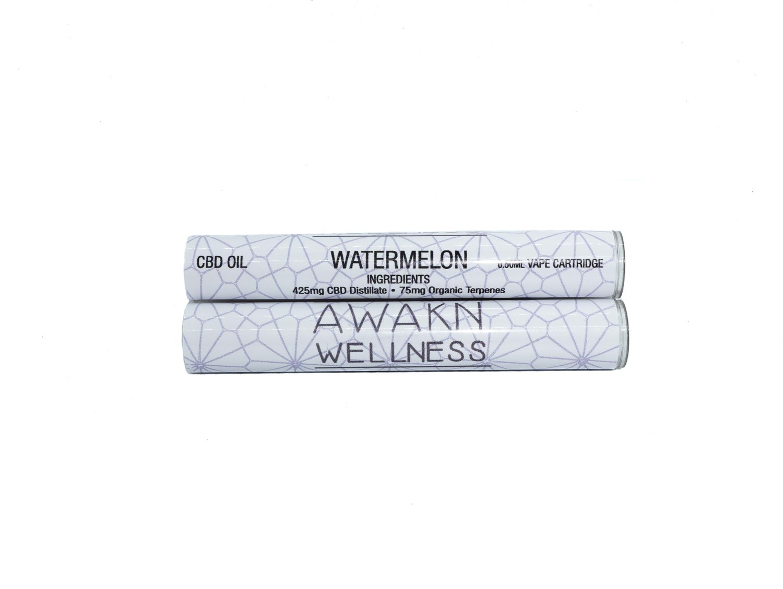 Watermelon (Full Spectrum) CBD Replacement Cartridge by Awakn Wellness