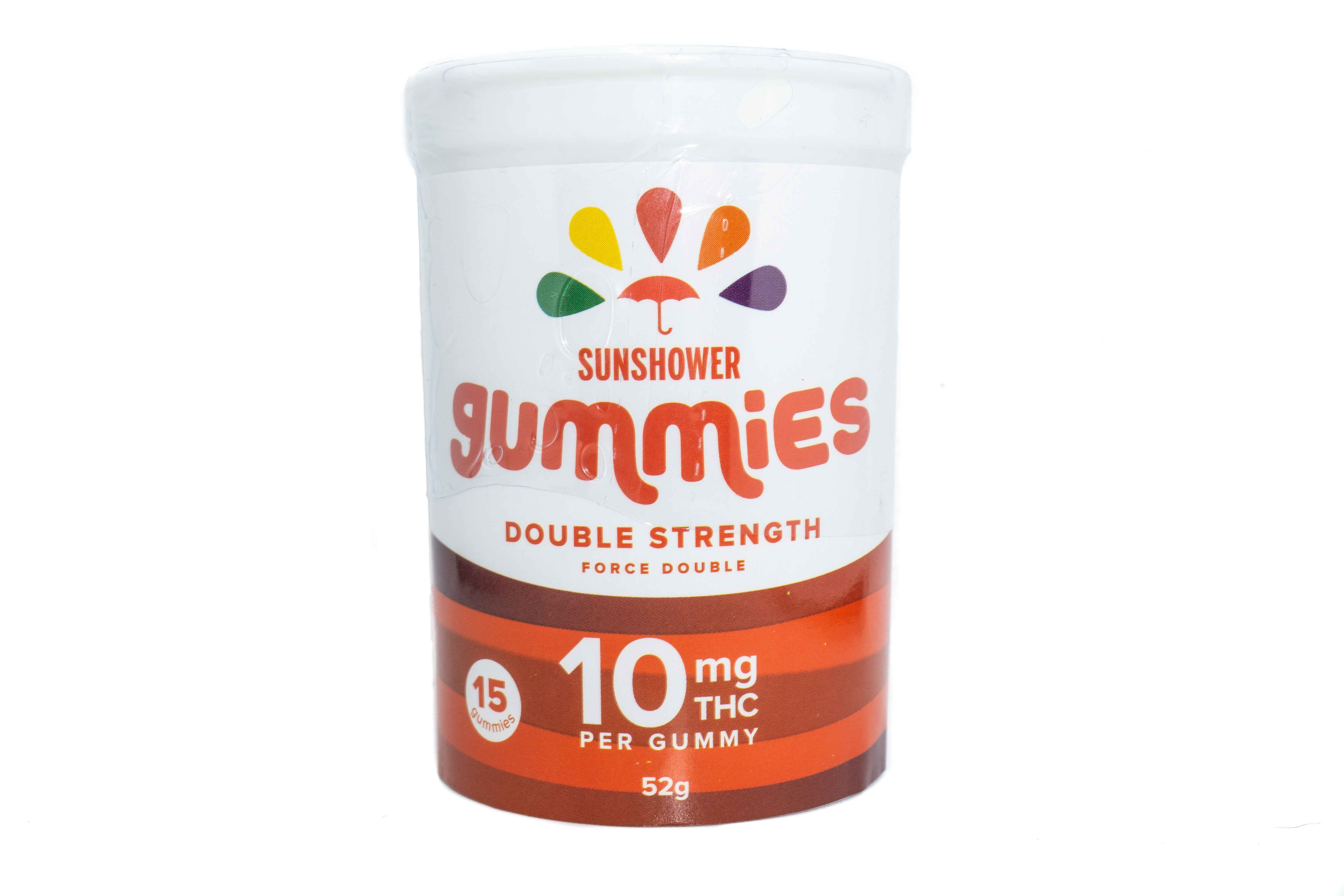 Double Strength Sunshower Gummies by Baked Edibles (150mg) 01226