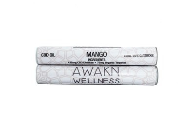 Mango (Full Spectrum) CBD Replacement Cartridge by Awakn Wellness