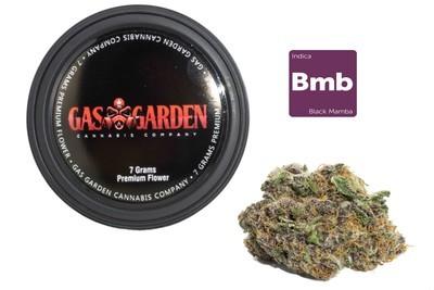 Black Mamba (7g Premium Flower Tin Can) By Gas Garden