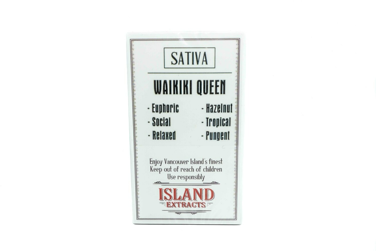 Waikiki Queen Premium Preroll (5/Pack) By Island Extracts