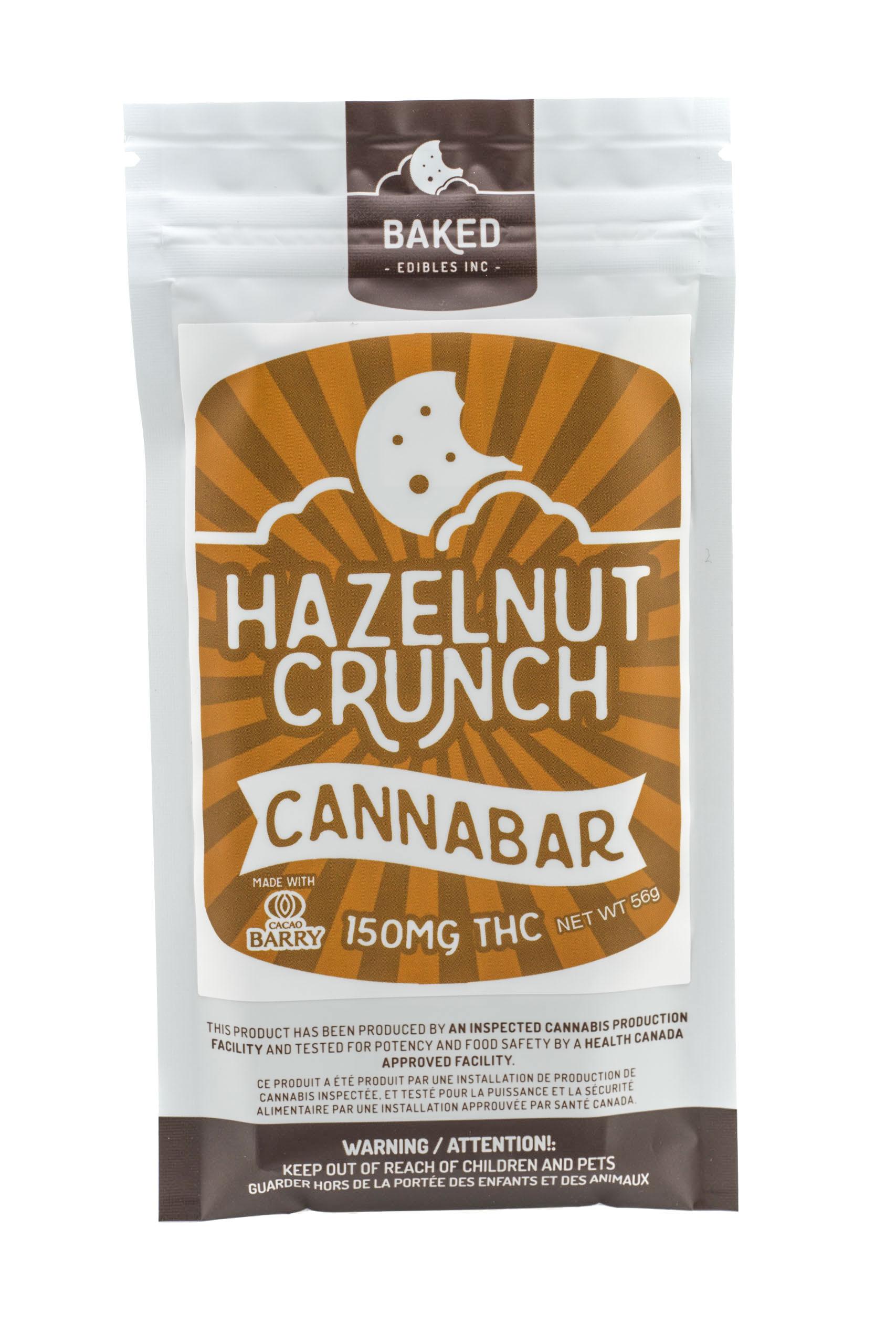 Hazelnut Crunch Cannabar (150mg THC)  by Baked Edibles 00011