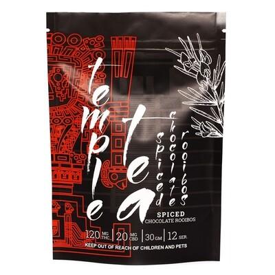 (120mg THC/ 20mg CBD) Spiced Chocolate Rooibos Tea By Temple Tea