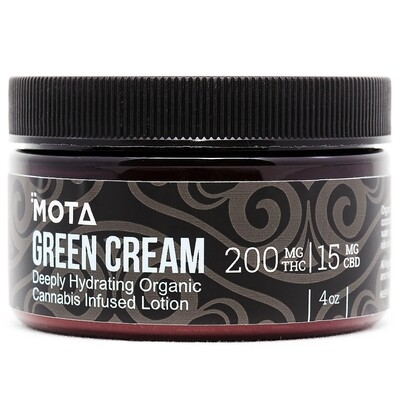 Hydrating (4oz/8oz) Green Cream By Mota