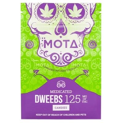 (125mg THC) Dweebs (Nerds) By Mota
