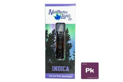 Purple Kush (Indica) Vape Top By Northern Lights