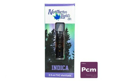 Peaches & Cream (Indica) Vape Top By Northern Lights