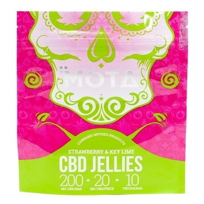 (200mg CBD) Fruit Jellies By Mota
