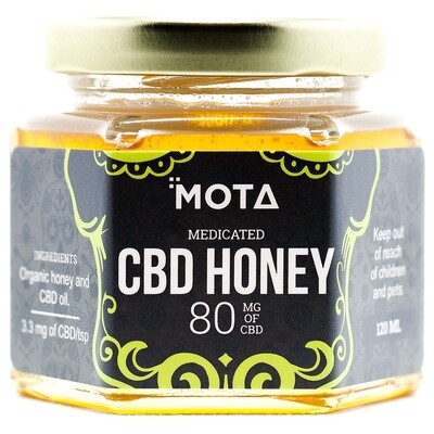 (80mg CBD) Honey By Mota