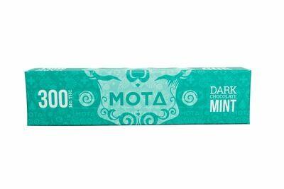 (300mg THC) Mint Dark Chocolate Bar By Mota