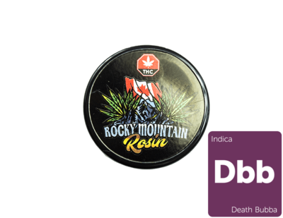 Death Bubba Rosin By Rocky Mountain