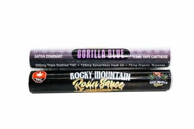 Gorilla Glue (Sativa) Rosin Sauce Replacement Cartridge by Rocky Mountain