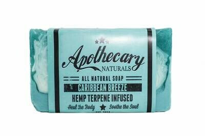 Apothecary Organic CBD Infused Medicated Soap – Caribbean Breeze