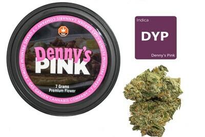 Denny's Pink (7g Premium Flower Tin Can) By Gas Garden