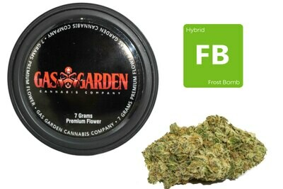Frost Bomb (7g Premium Flower Tin Can) By Gas Garden