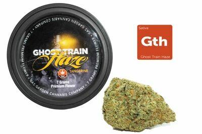 Ghost Train Haze Tangerine (7g Premium Flower Tin Can) By Gas Garden