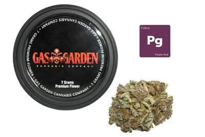 Purple God (7g Premium Flower Tin Can) By Gas Garden