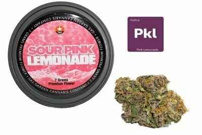 Sour Pink Lemonade (7g Premium Flower Tin Can) By Gas Garden