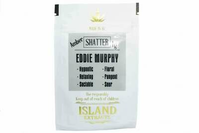 Eddie Murphy Shatter (Sour Diesel & White Widow & God ) (1g) by Island Extracts