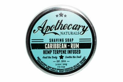 Caribbean Rum Shaving Soap By Apothecary