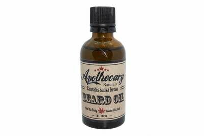 Hemp Infused Beard Oil By Apothecary