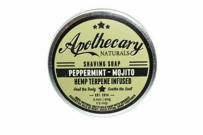 Peppermint Mojito Shaving Soap By Apothecary