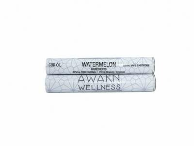 Watermelon (Full Spectrum) CBD Replacement Cartridge by Awakn Wellness