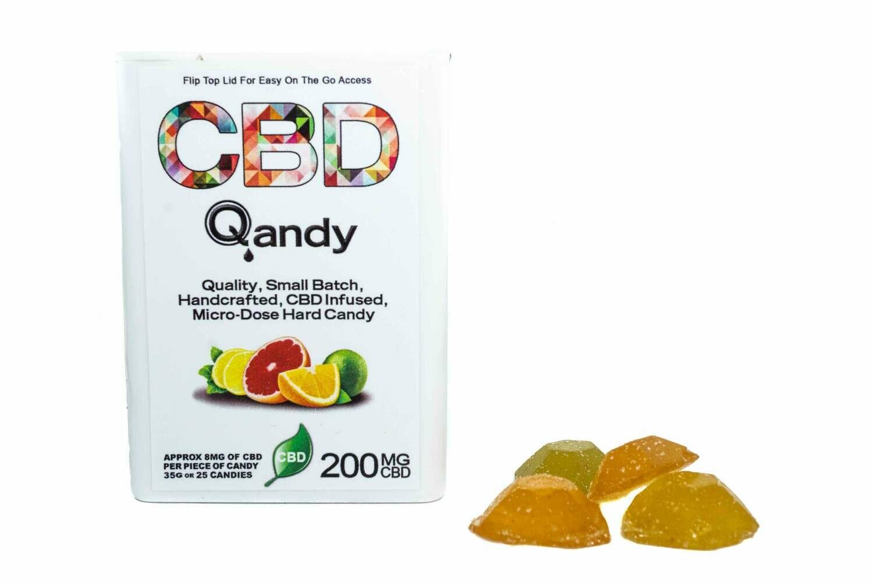 (200mg CBD) Citrus By Qandy (Vegan/Gluten Free)